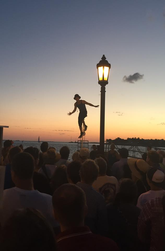 Every night at sunset is a celebration in Key West