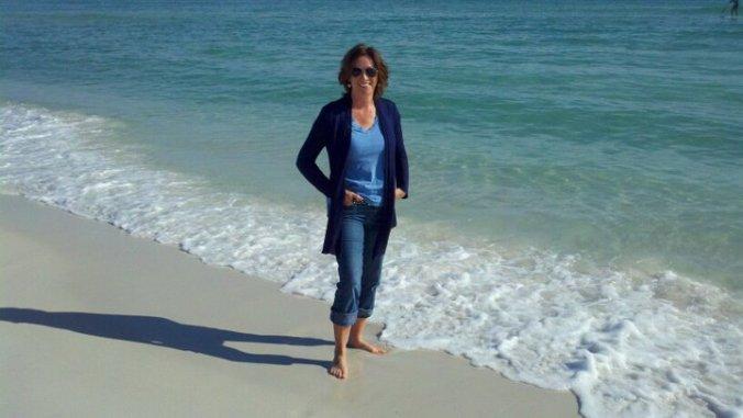 White sand beach of Pensacola