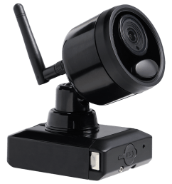 1080p outdoor wireless camera system 4 rechargeable wire free battery powered black cameras 95ft [ 1200 x 800 Pixel ]