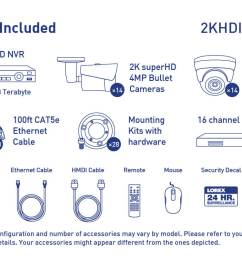 2k ip security camera system with 28 outdoor cameras [ 1200 x 800 Pixel ]