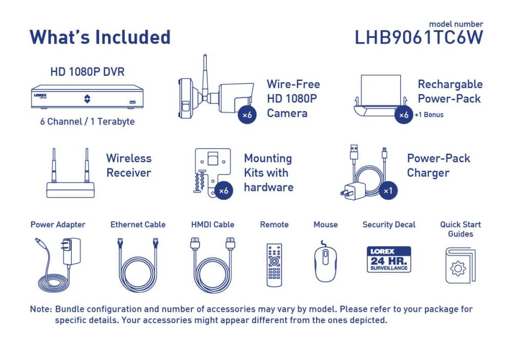 medium resolution of wire free security camera system