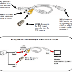 Vga Extension Cable Wiring Diagram 2003 Ford F350 Fuse Panel Rca Boss Great Installation Of Connector Free For You U2022 Rh Dollardeal Store Splitter Reverse Camera