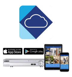 lorex cloud app keeps you connected to your home at all times [ 1200 x 1200 Pixel ]