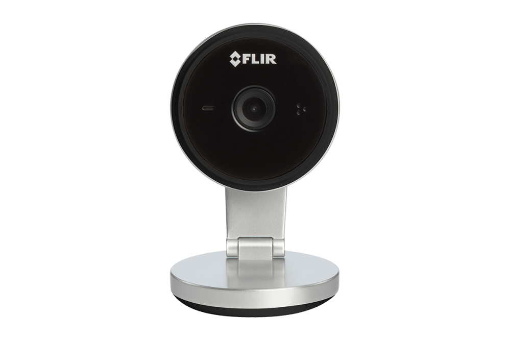 medium resolution of wifi home security camera with 2k super hd resolution black two way audio