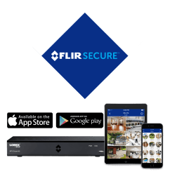 stay connected with flir secure app [ 1000 x 1000 Pixel ]