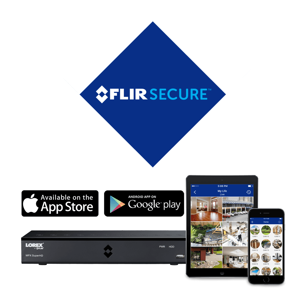 hight resolution of stay connected with flir secure app