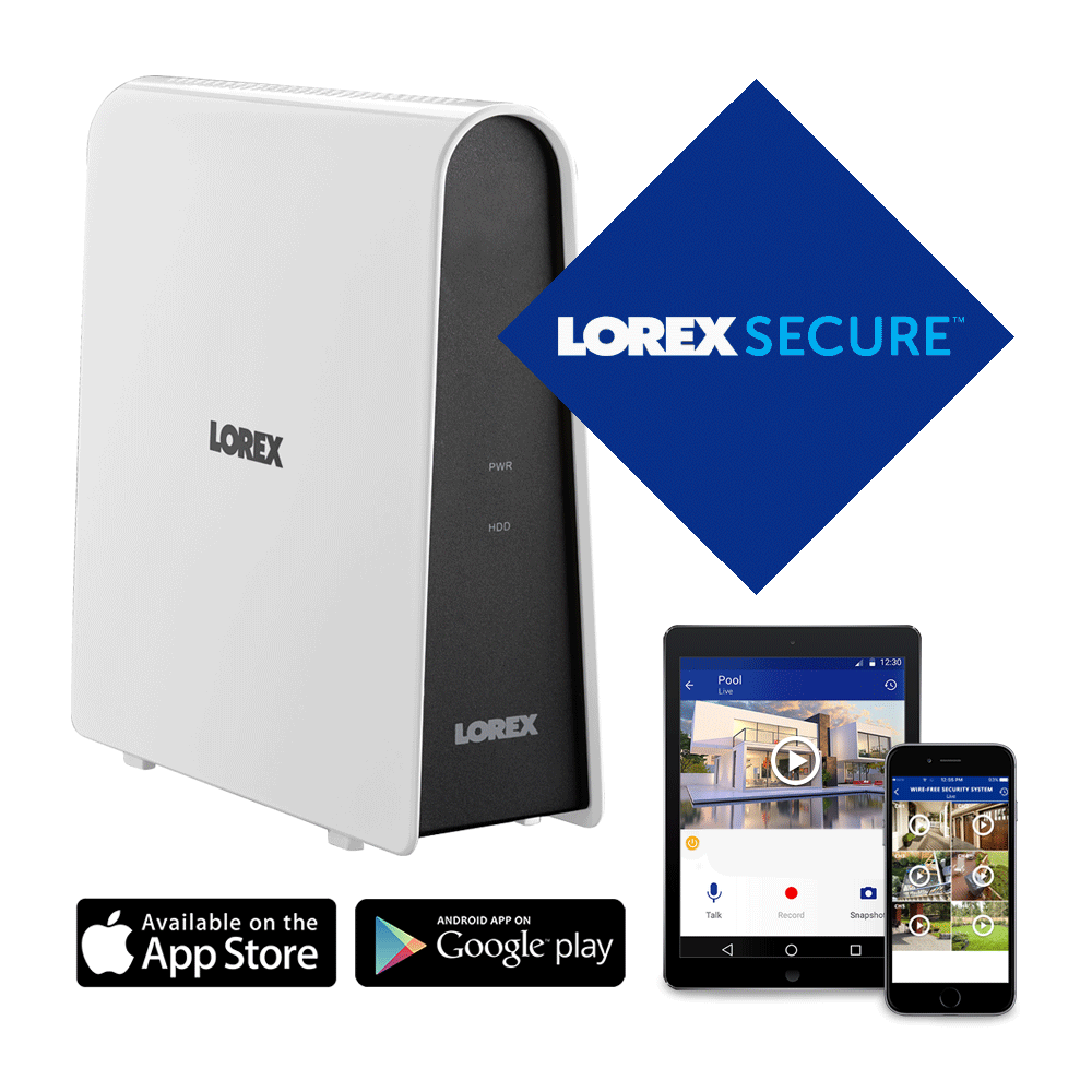 hight resolution of lorex secure keeps you connected