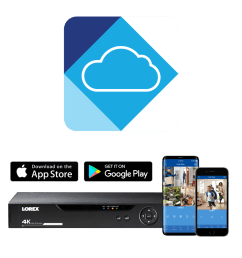 remote viewing from your mobile with lorex cloud [ 1200 x 1200 Pixel ]