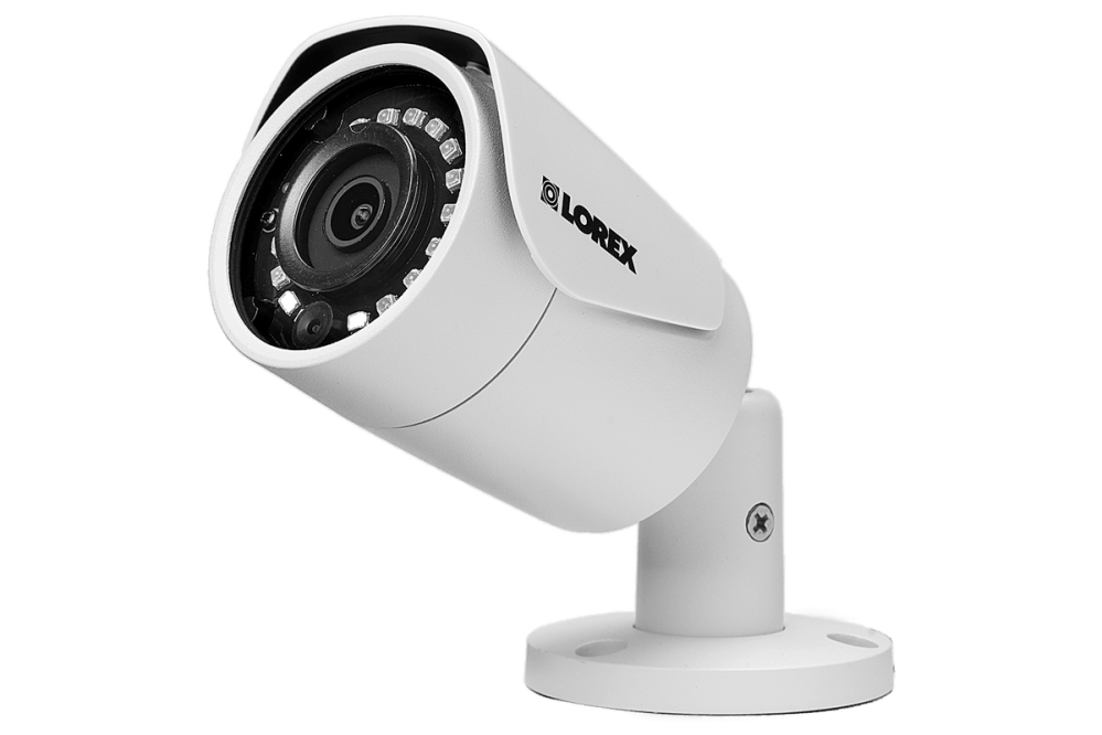 medium resolution of security nvr system 8 channel with 2k resolution ip cameras featuring 130ft color night vision