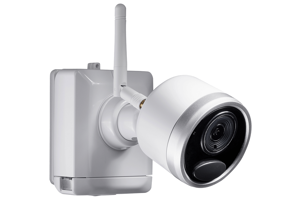 hight resolution of 1080p wireless camera system with 4 battery operated wire free cameras 65ft night vision