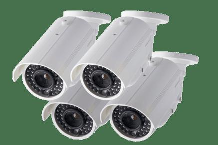 Fake security camera - professional security cameras