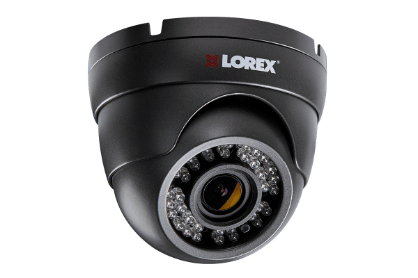 1080p Hd Zoom Security Dome Camera With Motorized Varifocal Lens 150ft Night Vision Lorex