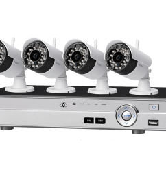 8 channel system with 2 wireless and 2 2k resolution security cameras lorex [ 1200 x 800 Pixel ]
