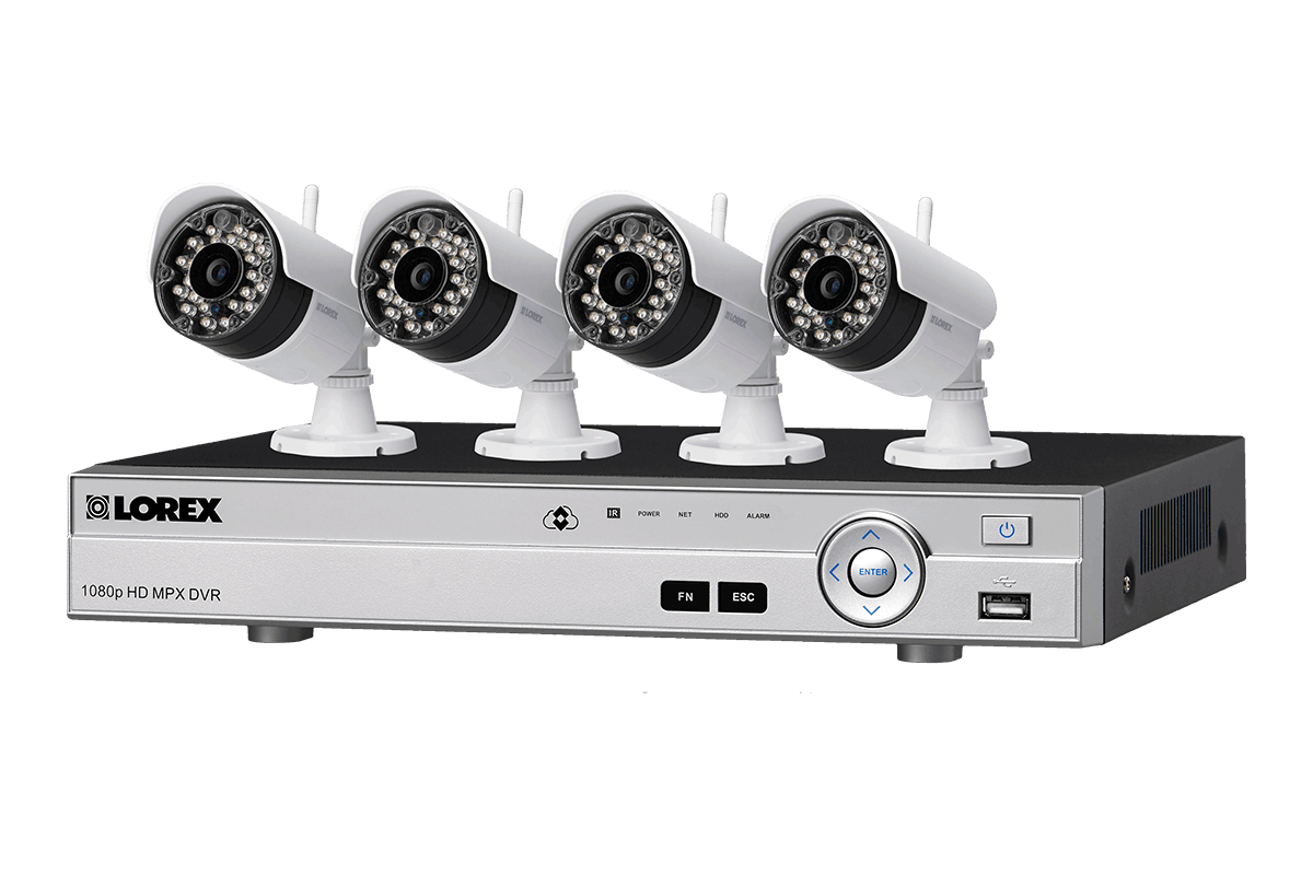 hight resolution of 8 channel system with 2 wireless and 2 2k resolution security cameras lorex