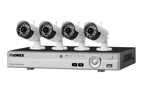 small resolution of 8 channel system with 2 wireless and 2 2k resolution security cameras lorex