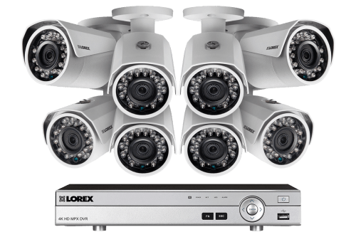 small resolution of 1080p camera system with 8 channel dvr and 8 1080p metal outdoor cameras 150ft night