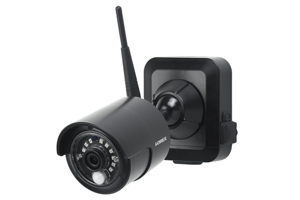 medium resolution of 1080p outdoor wireless camera system 4 rechargeable wire free battery powered black cameras 80ft