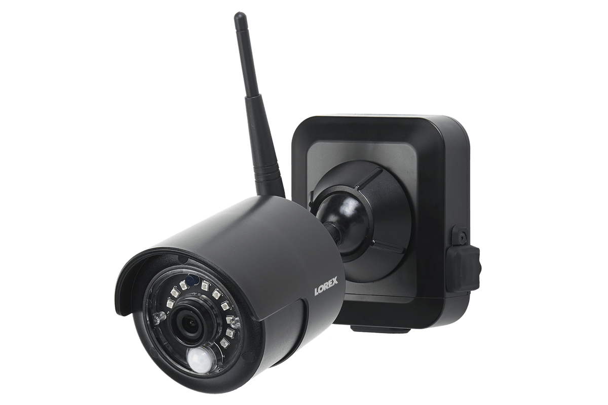 hight resolution of 1080p outdoor wireless camera system 4 rechargeable wire free battery powered black cameras 80ft