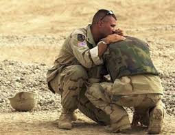 Traumatized soldier will be treated with ketamine infusions IV Ketamine and Treatment-Resistant Mood Disorders.