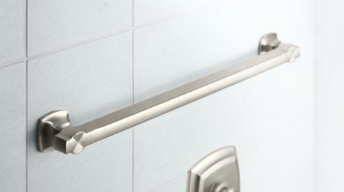 Luxury Bathroom Grab Bars lori dennis