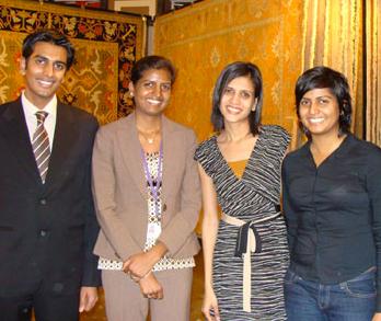 Asha Chaudhary and the Jaipur Team