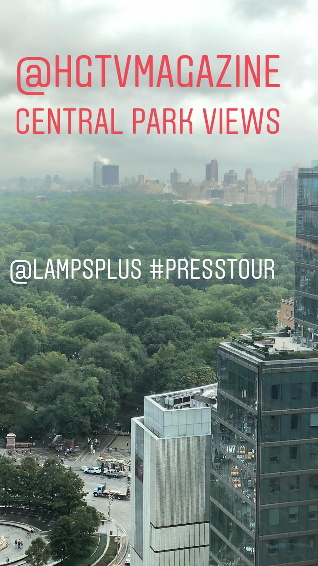 Central Park Views from HGTV Magazine Office in NYC