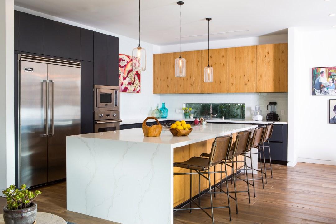 modern kitchen in venice beach