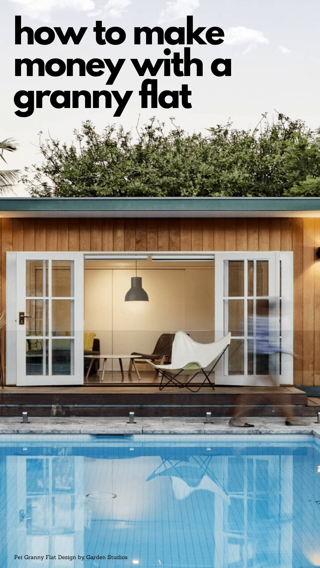 Granny Flats 101 how to make money with a vacation rental