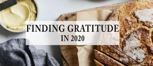 Finding Gratitude in 2020