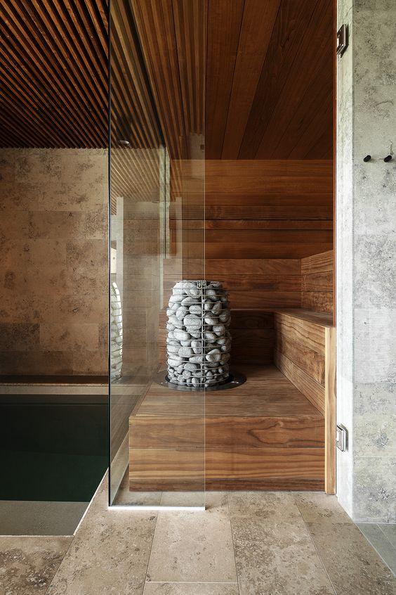 Custom Home Sauna Design