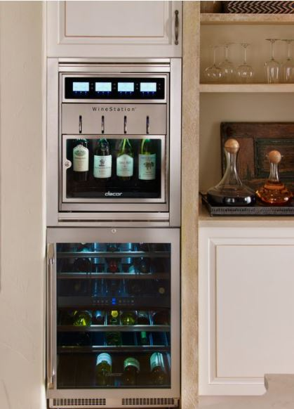 Must Have Kitchen Cabinet Accessory Wine Station