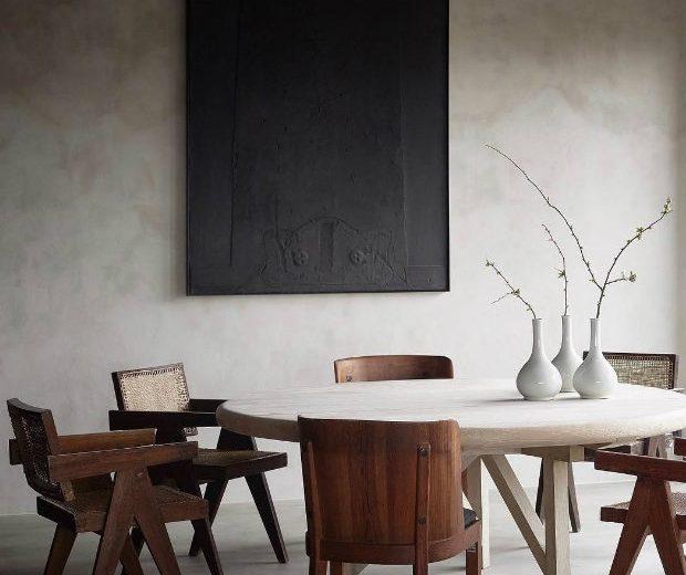 Limewash Paint Axel Vervoordt Dining Room
