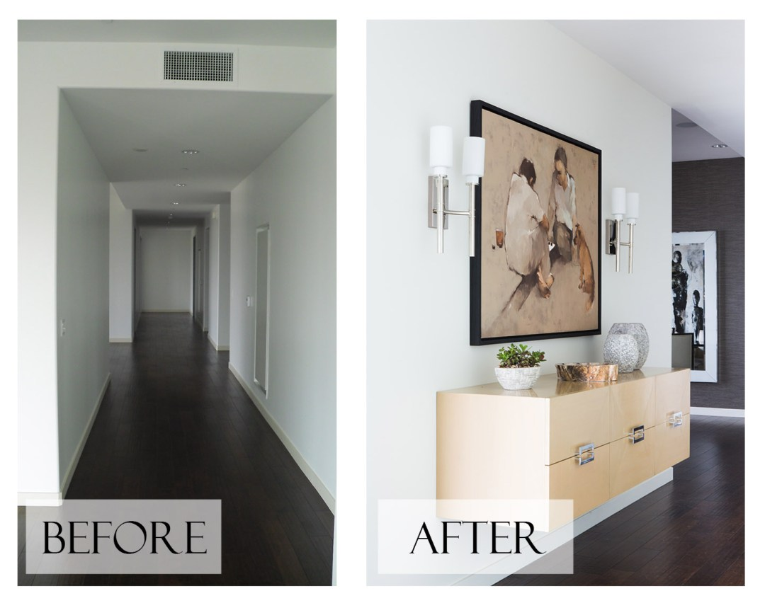 Top San Diego Interior Designer Lori Dennis Inc Before and After Home Entry