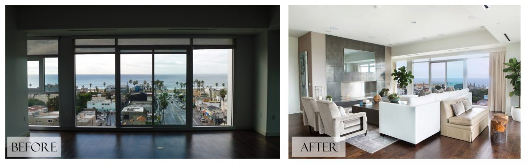 Top San Diego Interior Designer Lori Dennis Inc Before and After