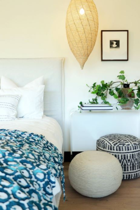 Spring Home Refresh Tips for Lighting and Bedding Bedroom