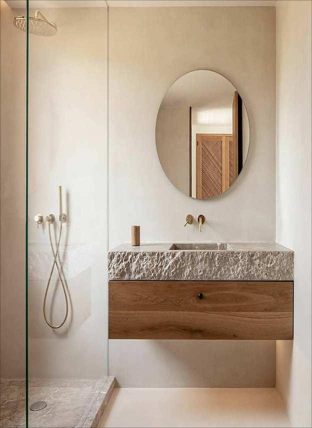 Limewash Bathroom Walls