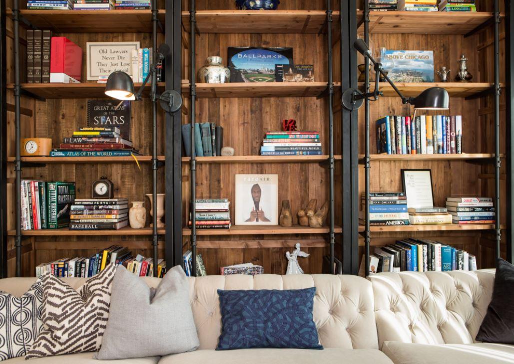 Sustainable Shelfie Living Room Design Ideas