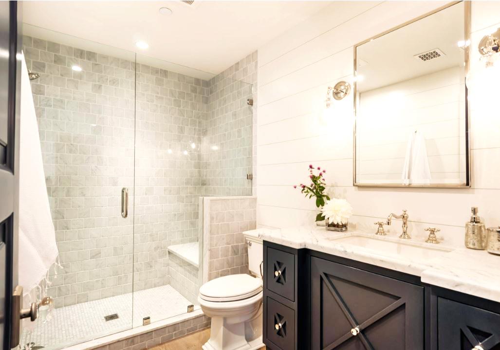 Save Water Dual Flush Toilet Bathroom Image