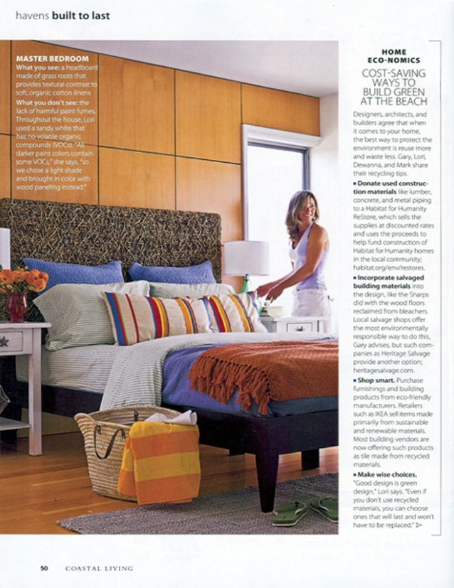 Coastal Living Magazine May 2009