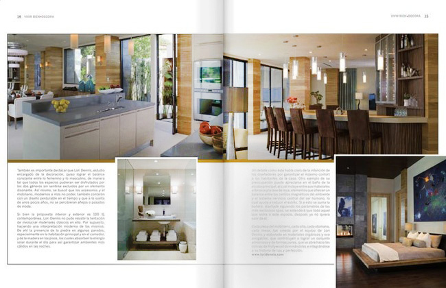 Celebrity Los Angeles Interior Designer Lori Dennis Los Angeles Vivir Bien Decora June, 2011