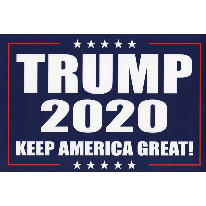 2020 donald trump keep america great campaign poster signs 100
