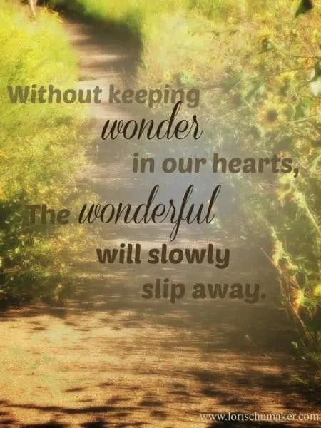 5 Ways to Keep Your Wonder Fresh