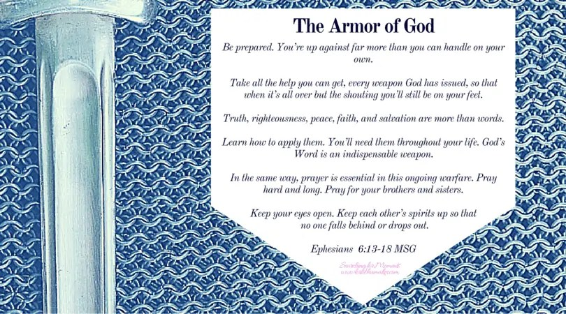 The Armor of God and Moments of Hope Link-Up