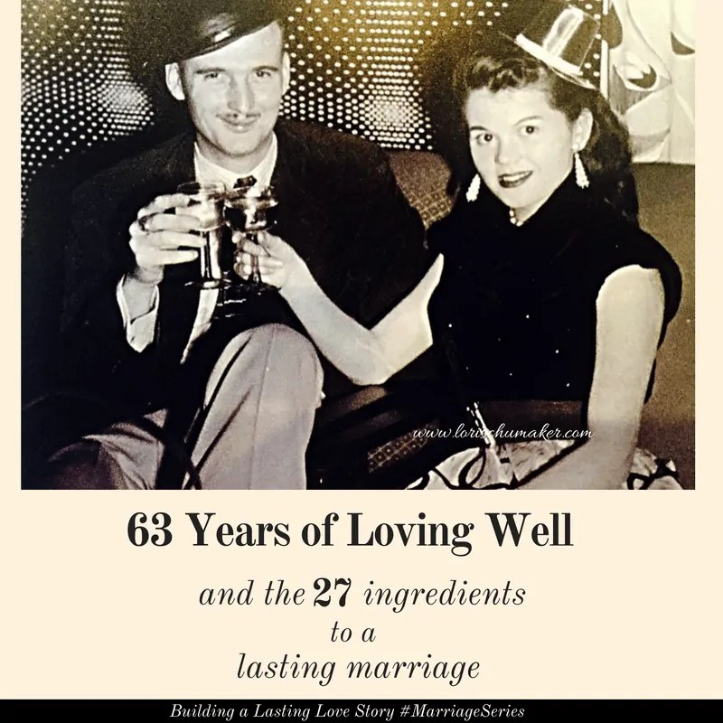 63 Years of Loving Well – The Ingredients to a Lasting Marriage