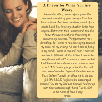 A Prayer for When You Are Weary {Moments of Hope Link-Up}
