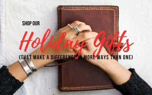 Mission Lazarus - Giving Back Gift Options
