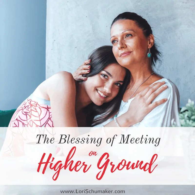 The Blessing of Meeting on Higher Ground {#MomentsofHope Link-Up}