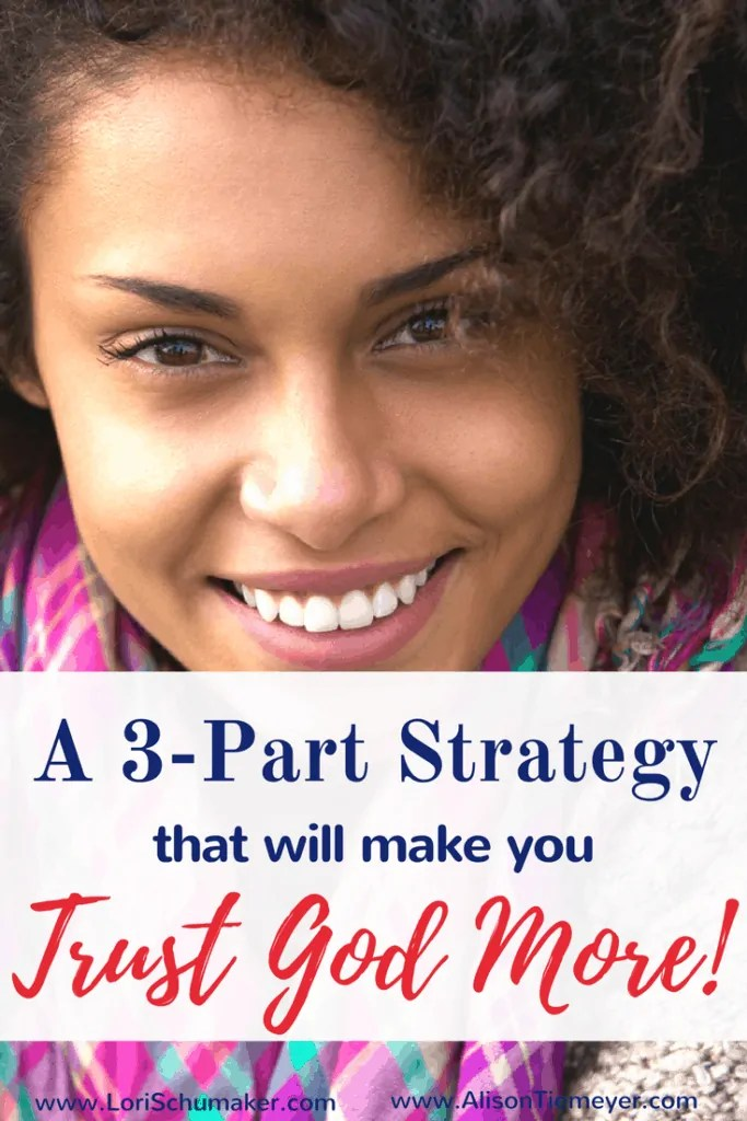 If we're going to be women who trusts steadfastly in the Lord, we need a battle plan.Here's a 3-Part Strategy that will make you trust God more ...