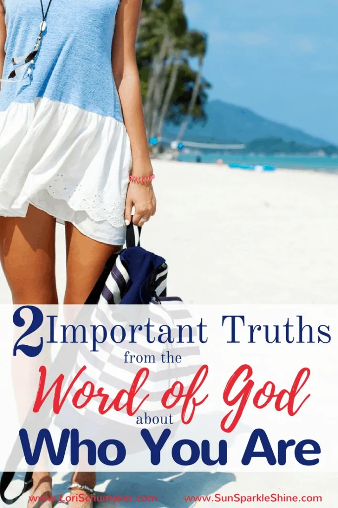 2 Important Truths from the Word of God about Who You Are | Christian Identity - The world labels us by much, yet the truth of who you are lies within the pages of God's love story for His people.