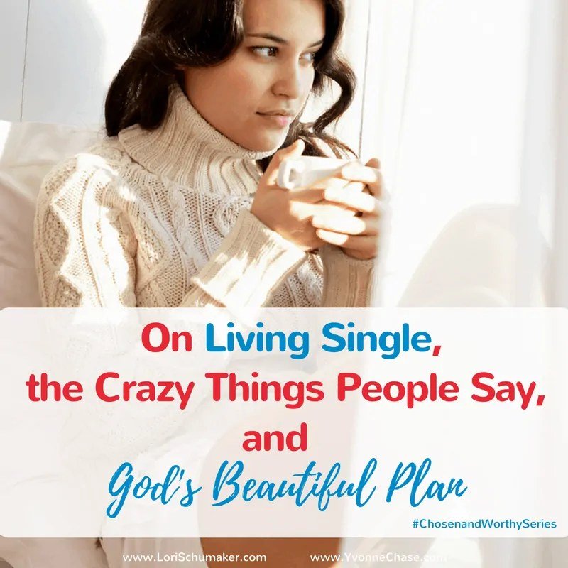 On Living Single, the Crazy Things People Say, and God's Beautiful Plan